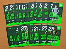 31x Handsignierte AK Autogrammkarten *VFL WOLFSBURG DAMEN* 19//20 2019//2020 Satz