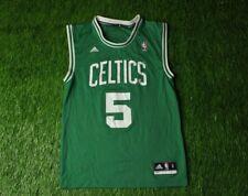 BOSTON CELTICS USA #5 GARNETT BASKETBALL SHIRT JERSEY ADIDAS ORIGINAL SIZE S