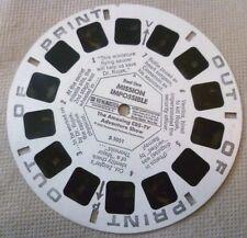 Vintage Viewmaster - Gaf Single Reel B 5051 Mission Impossible Reel 1