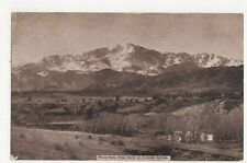Pikes Peak Colorado Springs USA Vintage Postcard 138a