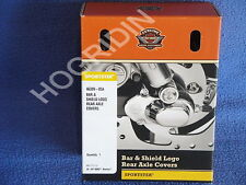 Harley Davidson bar & shield sportster xl rear axle nut cover kit  46399-05A