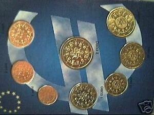 2009 PORTOGALLO 8 monete euro FDC portugal