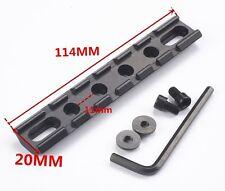 Hunting 114MM Rifle Scope Rail Picatinny/Weaver RIS Rail Scope 20mm Mount
