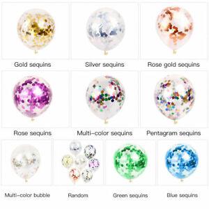 10pcs 12'' Confetti Latex Balloons Wedding Birthday Party Baby Shower Decoration
