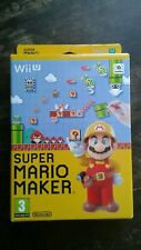 Boxed Super Mario Maker & Artbook for the Nintendo Wii U, 2015. VGC to Excellent
