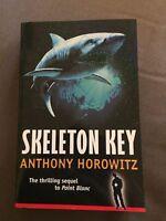 """2002 1ST EDITION """"SKELETON KEY"""" ANTHONY HOROWITZ FICTION PAPERBACK BOOK"""