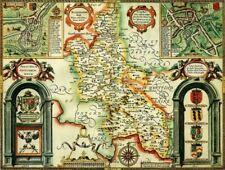 Buckinghamshire Historical Map 1000 Piece Jigsaw Puzzle (1610) - John Speed