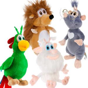 MULTI PULTI Booba & Lula Mouse & Guga Parrot & Hedgehog, Plush Toy, Original