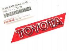 Genuine Toyota Corolla 2001-2007 Rear Toyota Badge 75441-02050