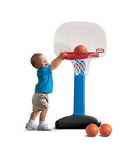 Little Tikes Kids Adjustable Easy Score Totsports 3 Balls Basketball Hoop Set