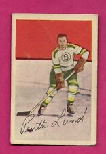 1952-53 PARKHURST # 83 BRUINS PENTTI LUND GOOD CARD (INV# 9667)