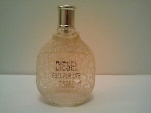 DIESEL FUEL FOR LIFE USE WITH CAUTION 75ML EDT SPRAY WOMENS PERFUME DISCONTINUED