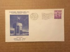 1941 WWII CURTISS PROPELLER DIV. CURTISS-WRIGHT CORP. Caldwell, NJ Cover