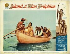 Island of the Blue Dolphin (1964) Lobby Card #3, Celia Kane