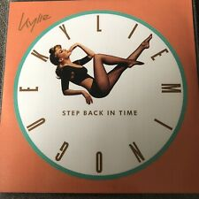 KYLIE - STEP BACK IN TIME - RARE OFFICIAL 5 REMIX NEW PROMO CD