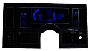 Intellitronix Blue LED Digital Dash Gauge Cluster 1984-1987 Buick Regal GNX GN