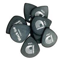 D'Addario - Planet Waves Guitar Picks Black Ice 10 Pack Duralin Heavy