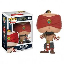 FUNKO POP LEE SIN 03 LEAGUE OF LEGENDS 9 CM N ° GAME VIDEOGAME STATUE #1