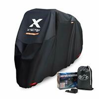 XYZCTEM Motorbike Cover 116 Inches long, Waterproof All Season Outdoor