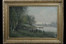 Henry L. Paysage de bord de rivière
