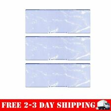 Blank Checks Paper Stock-3 Checks On A Page-100/Box Blue Marble Free Shipping
