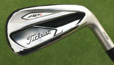 NEW TITLEIST AP1 718 IRON SET LH LEFT HAND 6-PW TENSEI RED AMC REGULAR GRAPHITE