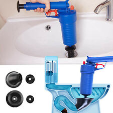 AIR PUMP DRAIN BLASTER SINK PLUNGER SHOWER BATH TOILET WASTEPIPE PIPE UNBLOCKER