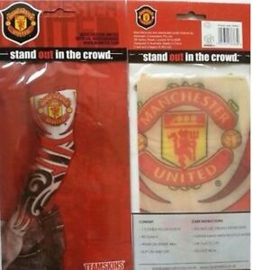 Official Tattoo Manchester United Sleeve Slip On Arm Tattoo Sleeves Football