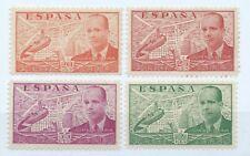 SPAIN Spanish Civil War 1939 LA CIERVA Y AUTOGIRO MNHOG Edifil # 880.881.882.885