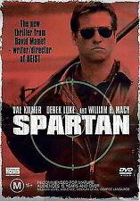 SPARTAN DVD VAL KILMER & WILLIAM H. MACY 2004 FREE POSTAGE IN AUSTRALIA