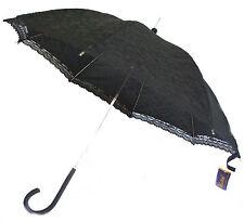 Ombrelle Noire - Canne - Dentelle - Kawaï - Gothique - Parapluie