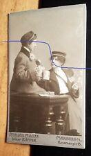 2 junge Frauen - Studentinnen - bei Bier & Zigarette - WS 1904 / CDV Marburg