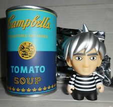 Kidrobot Dunny Andy Warhol Campbell's Soup Can Andy Warhol figure