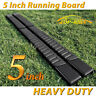 "For 02-08 DODGE Ram 1500 Quad Cab 5"" Running Board Side Step Nerf Bar H Black"
