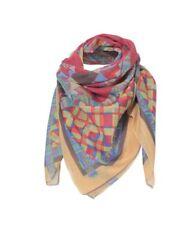 IVKO foulard écharpe châle géométrique imprimé Motif rouge 72649