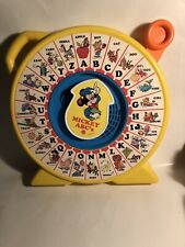 New listing Vintage 1989 Disney's Mickey Mouse Abc's See 'n Say Pull Toy Mattel Works