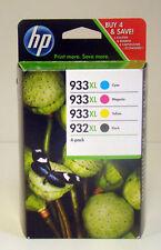 Original HP 933XL 932XL Cyan Magenta Yellow black NEU & OVP