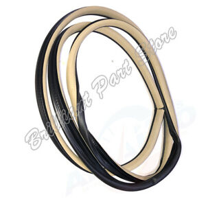 1pc Front Left Body Frame Seal Door Opening Seal Fit For CRV 07-11