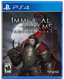 Immortal Realms Vampire Wars (PlayStation 4) Brand New (UNOPENED) Factory Sealed