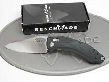 Benchmade 808 Loco Axis Lock CPM-S30V Black G10 Flat Ground Folding Knife #187