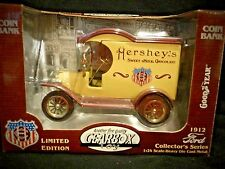 Gearbox Die-cast replica 1912 Ford Hershey's Delivery Car Coin BANK MIB
