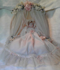 The Collectables by Phyllis Parkins 1990 Bassinet Baby Numbered w/Bassinet