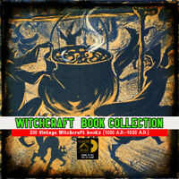 200 witchcraft rare books collection - The Ultimate Wicca - Witchcraft resource