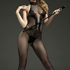 Womens-Sexy-Lingerie-Floral-Lace-Body stockings-Dress-Sleepwear-COSPLAY-Babydoll