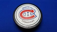 MONTREAL CANADIENS 1980s NHL Hockey Puck VICEROY