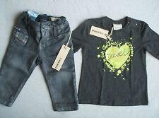 BNWT Diesel Bébé Fille Slim & L/S T shirt femme taille 6 mois RRP EUR139