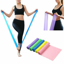 Elastic Yoga Pilates Rubber Stretch Resistance Exercise Fitness Band Sport 150CM