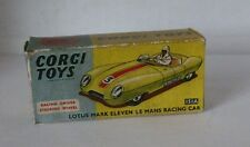 Repro Box Corgi Nr.151A Lotus Mark Eleven Le Mans Racing Car