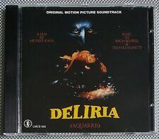 Simon Boswell Stefano Mainetti-Deliria Aquarius CD LUCERTOLA MEDIA