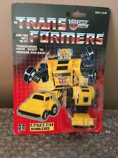 Vintage 1985 Hasbro Transformers Original G1 Minibot Yellow Bumblebee Autobot